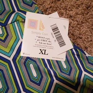 LuLaRoe Skirts - Lularoe Azure - XL